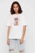 Noisy May T-shirts (korte mouwen) wit 27012230_BRIGHT WHITE img1
