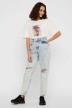 Noisy May T-shirts (korte mouwen) wit 27012230_BRIGHT WHITE img2