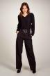 Astrid Black Label Pantalons de costume noir ABL202WT 024_BLACK img1