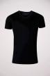 BRUCE & BUTLER T-shirts (korte mouwen) zwart BB LEANDER SS V 1P_BLACK img1