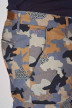 Bruce & Butler Shorts multicolor BRB191MT 001_DARK SAND CAMEO img4