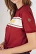 Cyclo Club Marcel T-shirts (korte mouwen) bordeaux CCM191WT 004_BORDEAUX img5