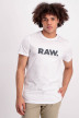 G-Star RAW T-shirts (korte mouwen) wit D085128415_110WHITE img1