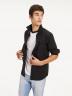 Tommy Jeans Hemden (lange mouwen) zwart DM0DM04405078_078TOMMY BLACK img1