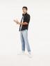 Tommy Jeans Hemden (lange mouwen) zwart DM0DM04405078_078TOMMY BLACK img2