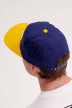 Vans Petten blauw DROP V2 SNAPBACK_DRESS BLUES img3