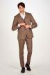 Le Fabuleux Marcel De Bruxelles Gilets beige IMP204MT 009_SAND CHECK img2