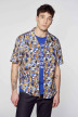 Le Fabuleux Marcel de Bruxelles Hemden (korte mouwen) multicolor IMP211MT 017_MULTI img2