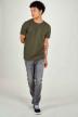 Calvin Klein Jeans slim grijs J30J3154431BY_AB032 MID GREY img1