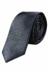 ACCESSORIES BY JACK & JONES Cravates gris JACCUBA TIE_JET SET img1