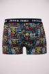 ACCESSORIES BY JACK & JONES Boxers zwart JACGRAFFITI TRUNKS_BLACK img2