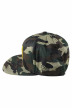 ACCESSORIES BY JACK & JONES Casquettes bleu JACWU TANG SNAPBACK_FOREST NIGHT img4