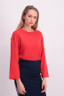 JACQUELINE de YONG Sweaters met ronde hals rood JDYABIGAIL LS SWEAT_HIGH RISK RED img1