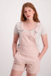 JACQUELINE de YONG Playsuits rose JDYCATE SHORT O_PEACHSKIN img1