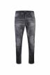 JACK & JONES JEANS INTELLIGENCE Jeans tapered zwart JJIMIKE JJJAX_BL 793 BLACK D img1