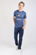 JACK & JONES JEANS INTELLIGENC Jeans tapered denim JJMIKE ORIGINAL_JOS097BLUE KNI img2