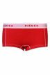 PIECES Shorty rood LOGO LADY BOXER14200_HIGH RISK RED img1