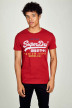 SUPERDRY T-shirts (manches courtes) rouge M1010344A_3YJ CHILLI PEPP img1