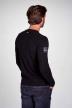 Petrol T-shirts (lange mouwen) zwart M3000SPTLR300_9999 BLACK img3