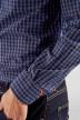 Le Fabuleux Marcel De Bruxelles Chemises (manches longues) bleu MDB182MT 014_NAVY CHECK img5