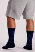 Petrol Chaussettes gris MFW18SOC904_9080 STEAL MELE img2