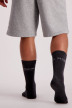 Petrol Chaussettes gris MFW18SOC911_9080 STEAL MELE img3