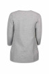 ONLY Gilets gris ONLLECO 78 LONG CARD_LIGHT GREY MEL img2