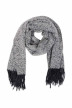 PIECES Wintersjaals zwart PCJERA LONG SCARF_BLACK img1