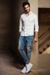 CR7 Hemden (lange mouwen) wit S0060_100 WHITE img2