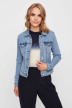 VERO MODA Vestes courtes denim VMHOT SOYA LS DENIM_LIGHT BLUE DENI img1