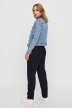 VERO MODA Vestes courtes denim VMHOT SOYA LS DENIM_LIGHT BLUE DENI img3