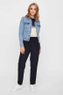 VERO MODA Vestes courtes denim VMHOT SOYA LS DENIM_LIGHT BLUE DENI img5
