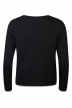 VERO MODA Sweats col O noir VMMERRY LS TOP_BLACK img2