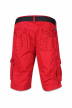 Petrol Shorts rood WAMOSS16SHO470_361 FIRE RED img2