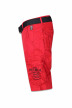 Petrol Shorts rood WAMOSS16SHO470_361 FIRE RED img4