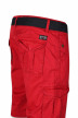 Petrol Shorts rood WAMOSS16SHO470_361 FIRE RED img5