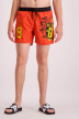ZEB Style Lab Zwembroeken rood WK SWIMSHORT S18_RED img1