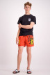ZEB Style Lab Zwembroeken rood WK SWIMSHORT S18_RED img2