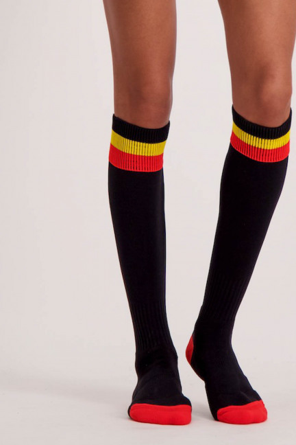 WK FOOTBALL SOCKS_BLACK