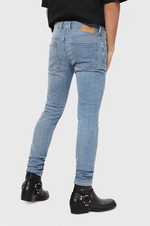 DIESEL Jeans skinny denim 00S7V 086AK_086AK LIGHTBLUE img3