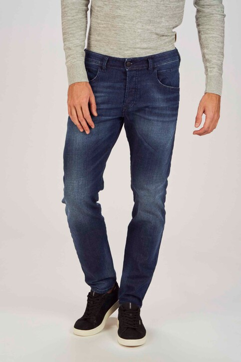 DIESEL Jeans tapered denim 00SSL 084GR_084GR MIDBLUE img1
