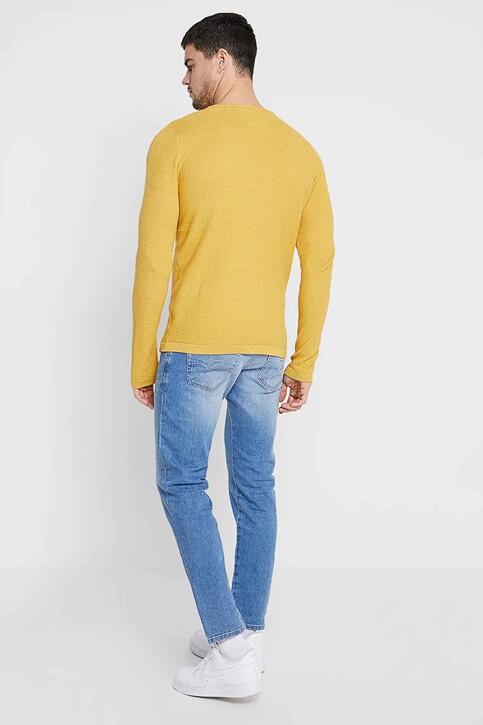 DIESEL Jeans tapered denim 00SSL 087AQ_087AQ LIGHT BLU img3