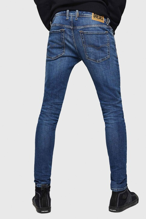 DIESEL Jeans skinny denim 00SWJ 069FZ_01 LIGHT BLUE img3