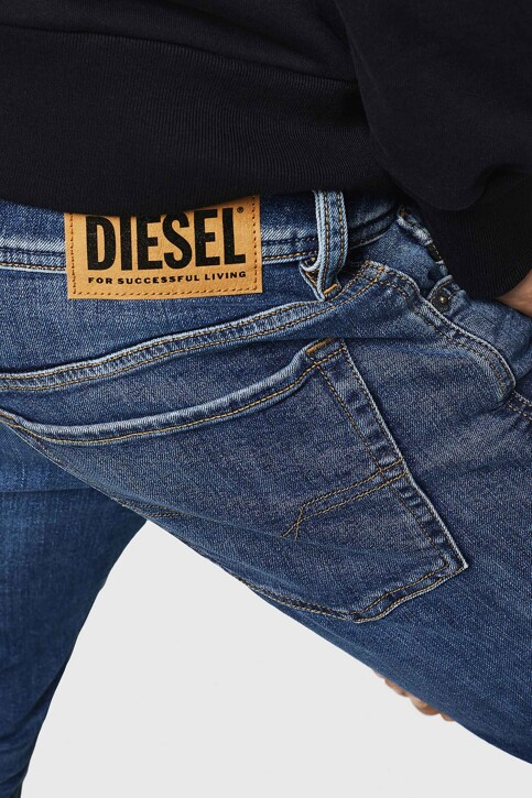 DIESEL Jeans skinny denim 00SWJ 069FZ_01 LIGHT BLUE img4