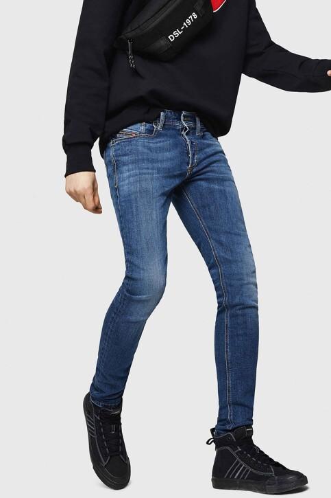 DIESEL Jeans skinny denim 00SWJ 069FZ_01 LIGHT BLUE img5