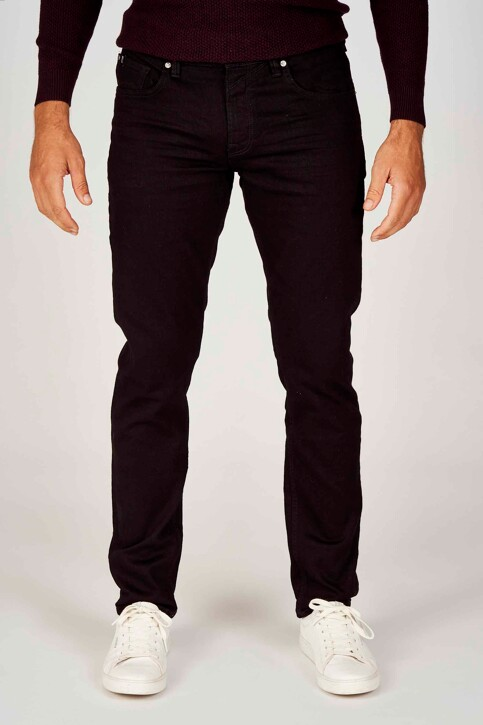 TOM TAILOR Jeans slim zwart 1008451_10240 BLACK DEN img1