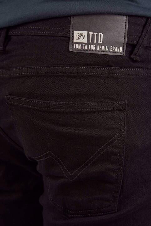 TOM TAILOR Jeans slim zwart 1008451_10240 BLACK DEN img4