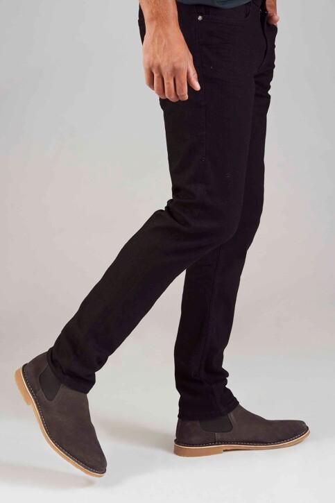 TOM TAILOR Jeans slim zwart 1008451_10240 BLACK DEN img5
