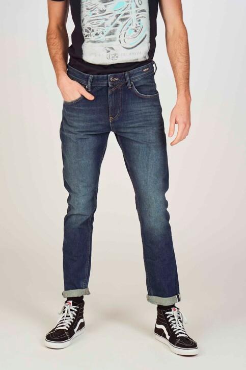 TOM TAILOR Jeans tapered denim 1008459_10136 DARK BLUE img1