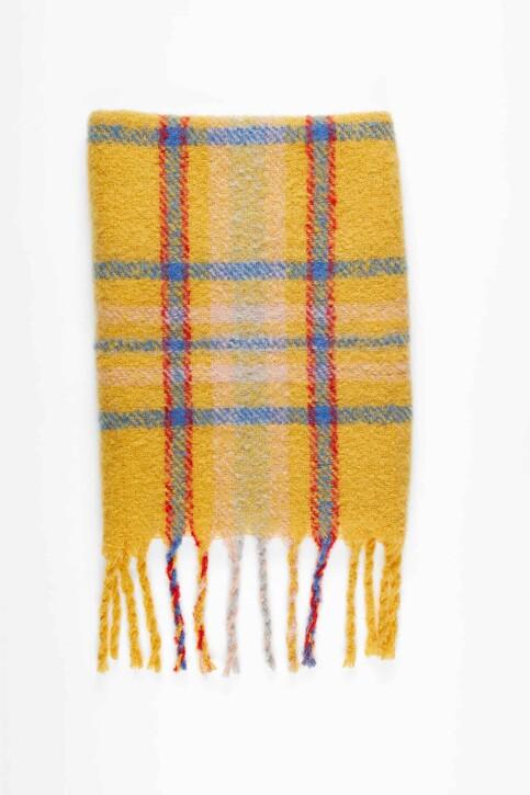VERO MODA® Wintersjaals beige 10217593_SPICY MUSTARD img1